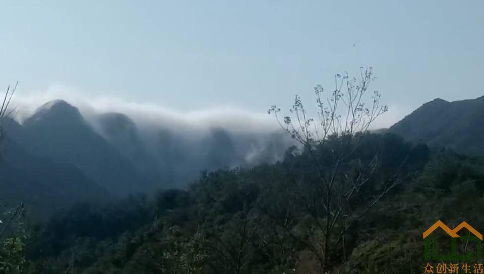 难得一见的云山之美